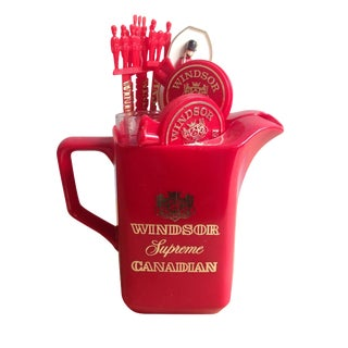 Windsor Supreme Canadian Whisky Bar Kit