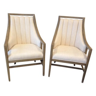 Driftwood Host Chairs - Pair