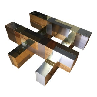 1970s Paul Evans 'Cityscape' Coffee Table