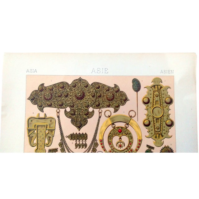 1888 Jewelry of Ancient Asia Lithograph - Image 2 of 7