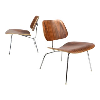 Matched Pair of Eames LCM Lounge Chairs by Herman Miller