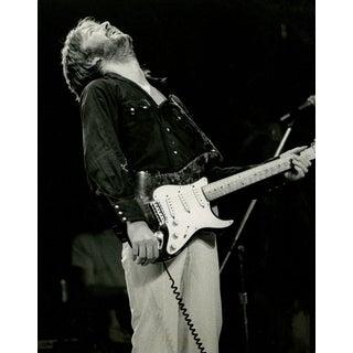 """Eric Clapton, New York"" 1975 Photograph"
