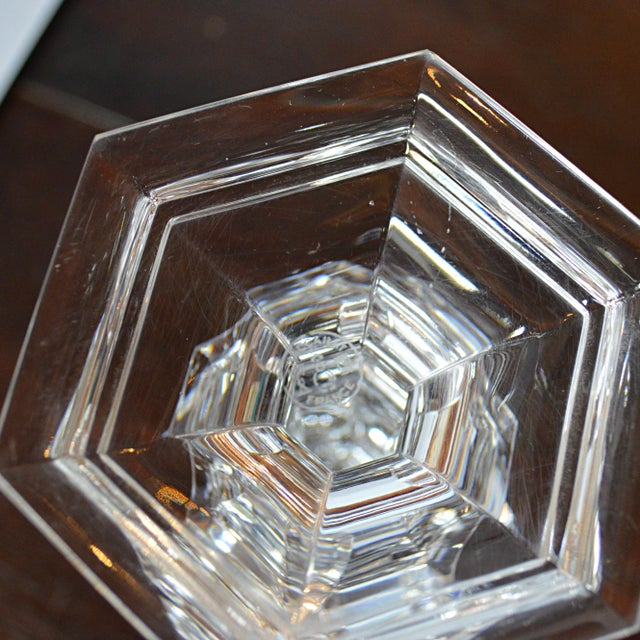 Baccarat Crystal Candlesticks - A Pair - Image 5 of 6