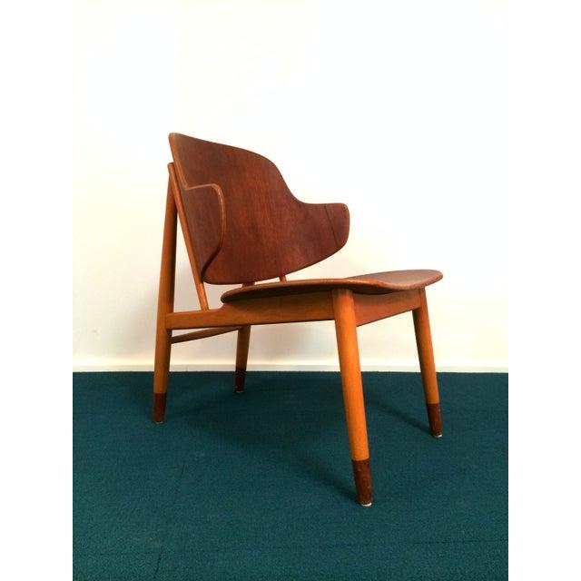 Image of lb Kofod Larsen Danish Teak Lounge Chair