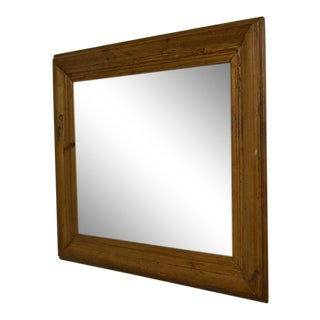 Antique Pine Mirror Frame