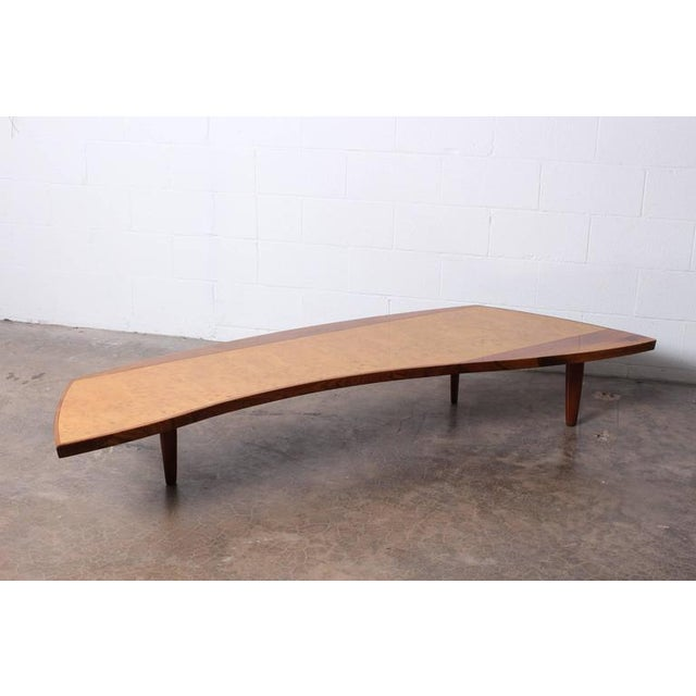 Sophisticated Large Coffee Table By George Nakashima Decaso