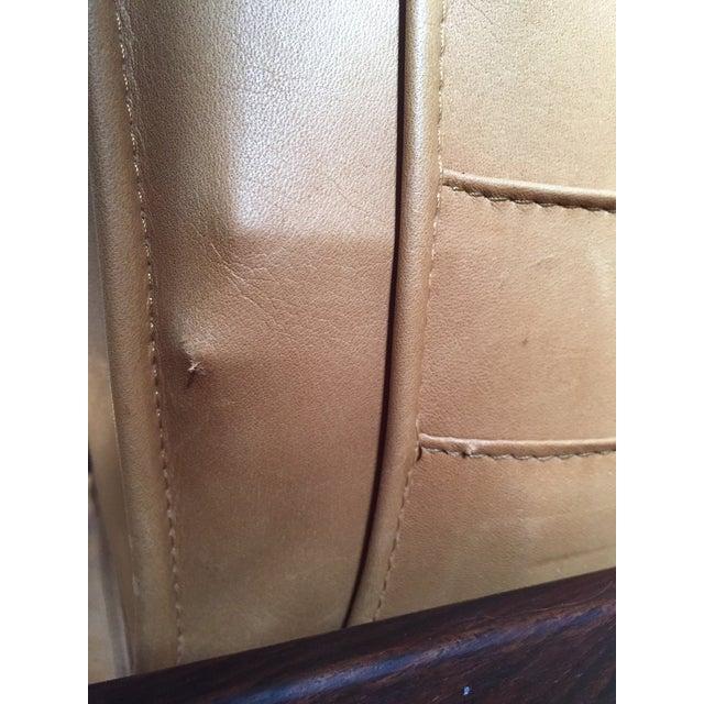 Danish Rosewood & Leather Magazine Rack - Image 10 of 11