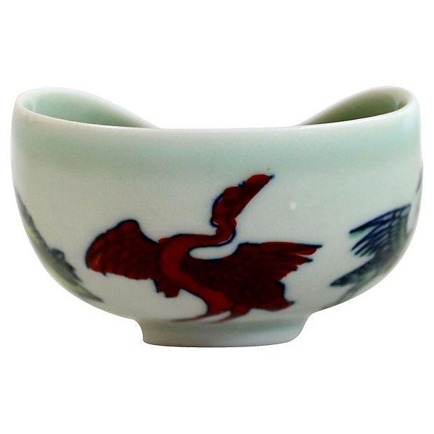 Antique Ming Calligraphy Water Dish - Image 3 of 5