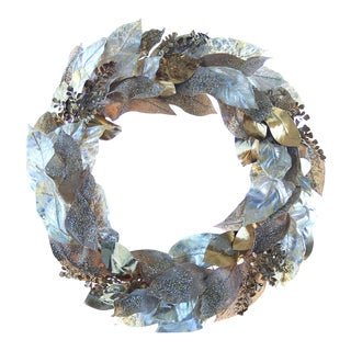 Rose Gold Laurel Wreath