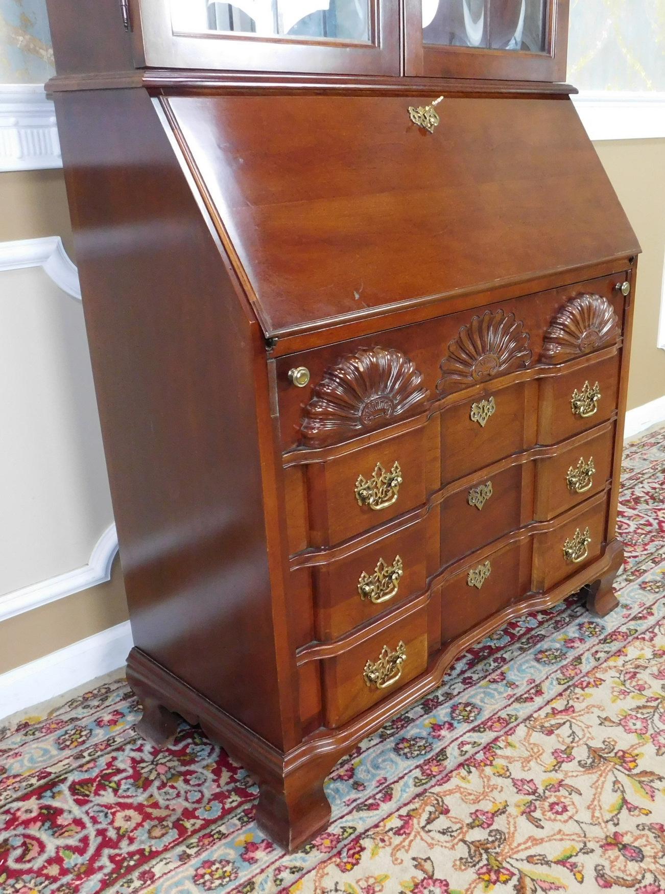 Jasper Cabinet Company Cherry Governor Winthrop Secretary