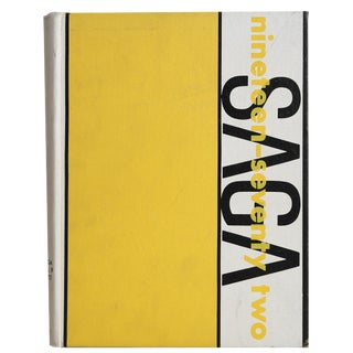 "1972 Walt Whitman High School ""Saga"" Yearbook"