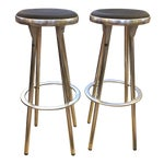 Image of Indecasa Black Barstools - a Pair