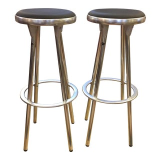 Indecasa Black Barstools - a Pair