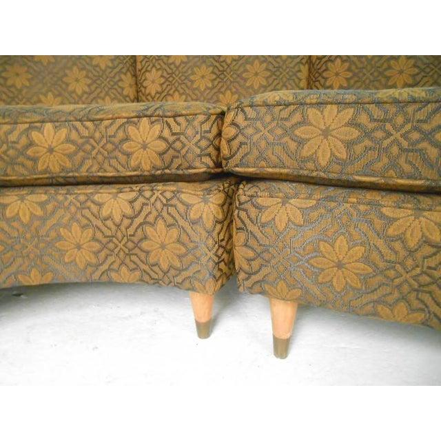 Mid-Century Modern Three Piece Sectional Sofa - Image 5 of 8