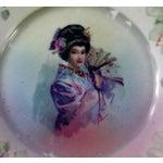 Image of Vintage Geisha Girl Plate
