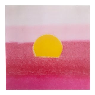 "Andy Warhol Original Pop Art Sunset Series Print ""Pink Sunset"" 1972"