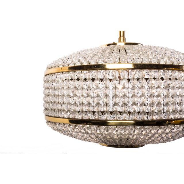 Lobmeyr Crystal Chandelier Pendant - Image 6 of 6