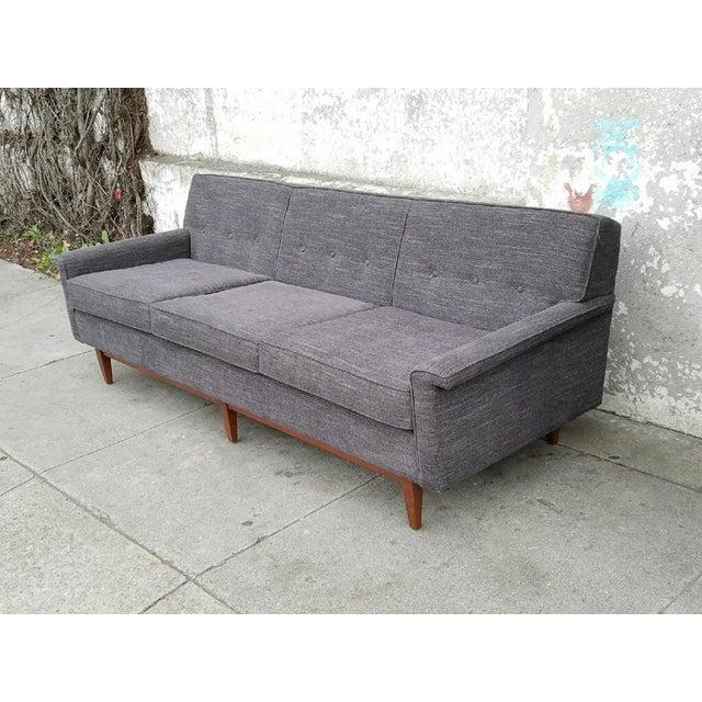Gray Mid-Century Style Sofa - Image 3 of 7