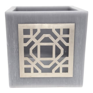 Gray Kasbah Tealight Holder