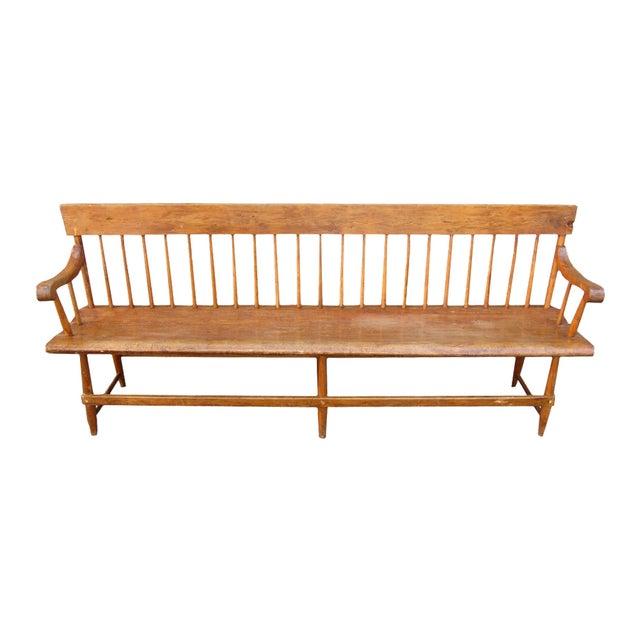 Vintage Windsor Bench - Image 1 of 2