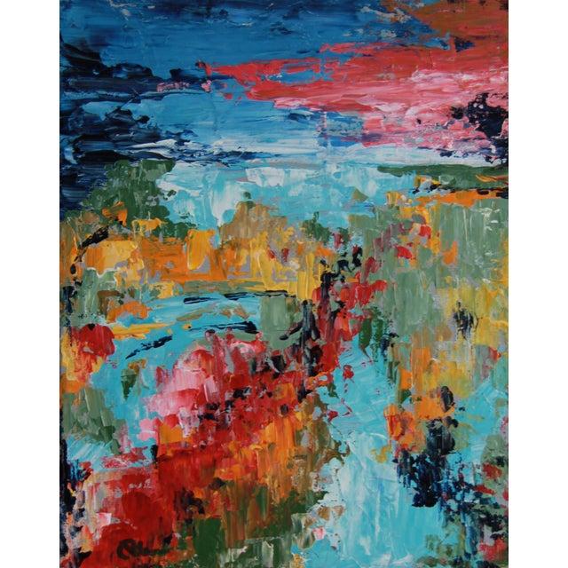 Celeste Plowden Late Summer Marsh Painting - Image 1 of 2