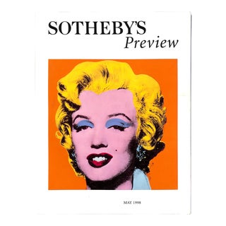 """Sotheby's Preview: May 1998"" Book"