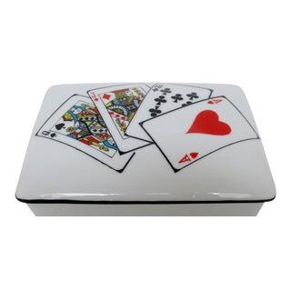 Porcelain Card Box