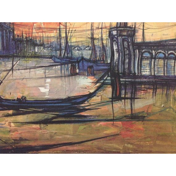 Bouvier De Cachard Reproduction Venice at Sunset - Image 6 of 6