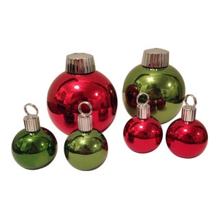 Christmas Ornament Shakers & Place Card Holders - Set of 6