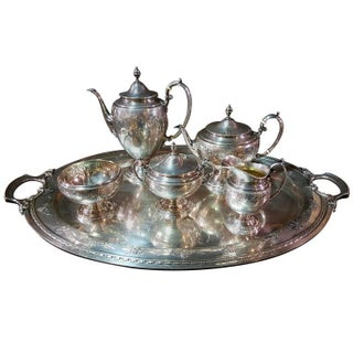 Towle Sterling Silver Tea Service - Set of 6