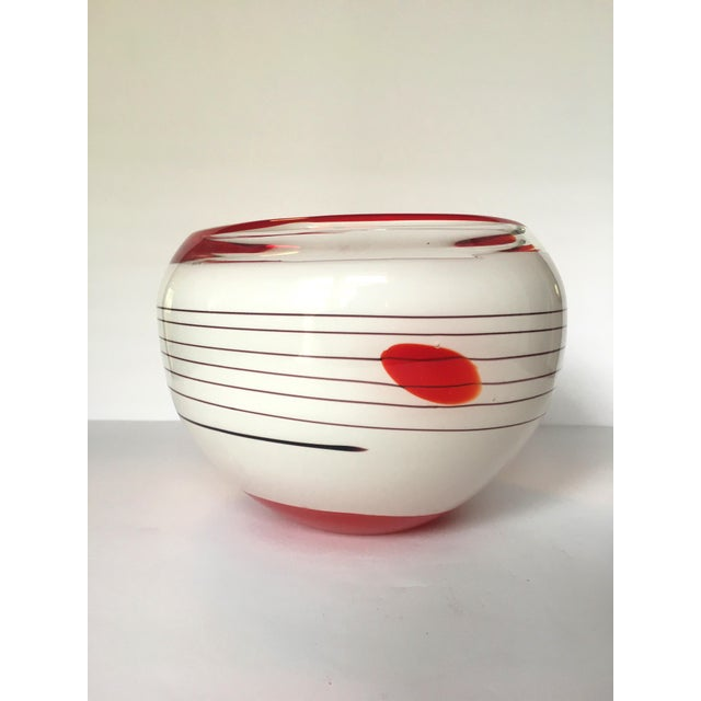 Mid-Century Blown Glass Bowl - Image 2 of 6