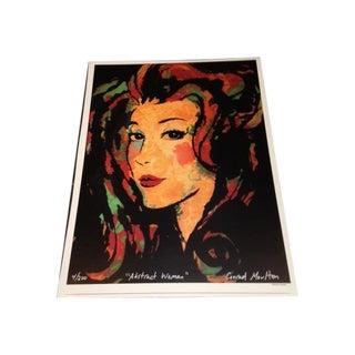Abstract Woman Print
