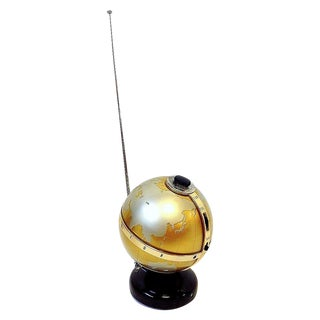 1960s Vista Model Ntr-6g Globe Transistor Radio