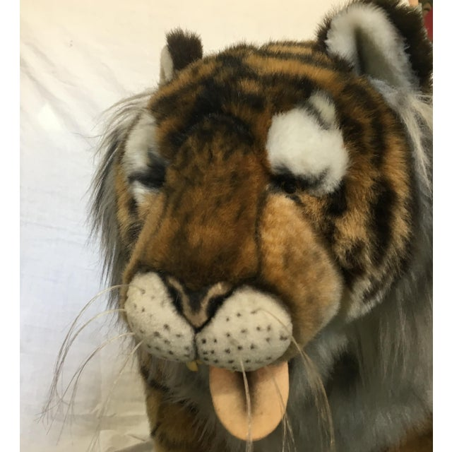Vintage Nordstrom's Advertising Display Life Sized Plush Tiger - Image 4 of 11