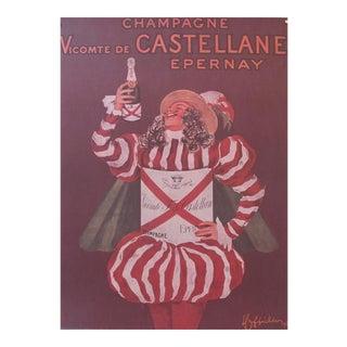 Cappiello Champagne Poster, Viscomte de Castellane