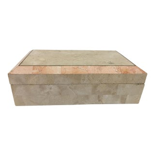 Maitland Smith Tessellated Stone Box