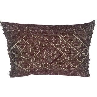 Amelia Silk Embroidered Pillow