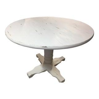 Pedestal Solid Wood Table