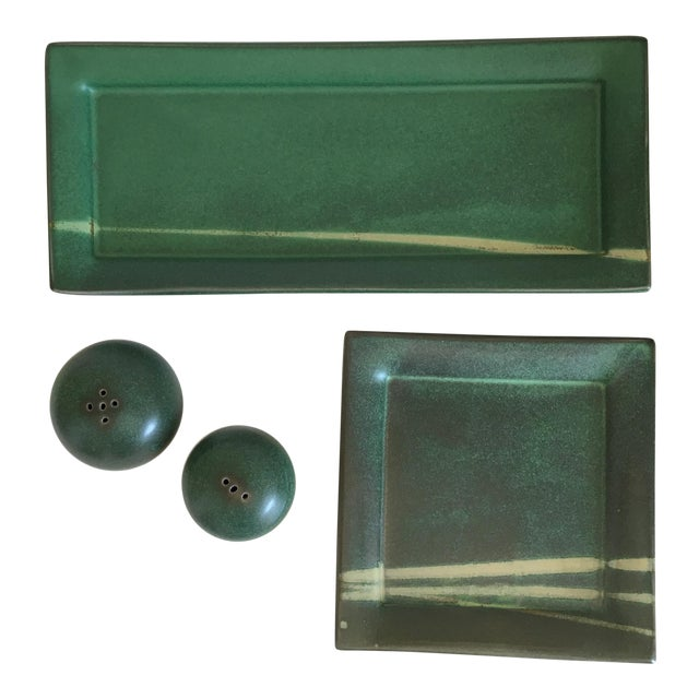 Northern Clay Center Earthenware Pottery Set - Set of 4 Pieces - Image 1 of 9