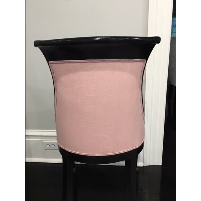 Vintage Side Chair With Ebony Stain - Image 6 of 9