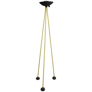 "Tripod Floor Lamp, ""Memphis"" Style by Koch & Lowy, Called Footsteps, circa 1990s"