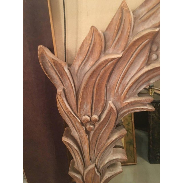 Vintage Palm Frond Wall Mirror - Image 2 of 9