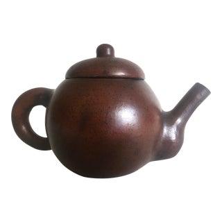 Vintage Mid-Century Modern Japan Studio Pottery Individual Ceramic Teapot