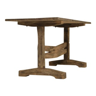 Antique French Trestle Dining or Kitchen Table, circa 1800s