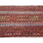 "Image of Vintage Turkish Red Kilim Rug - 6' x 9'4"""