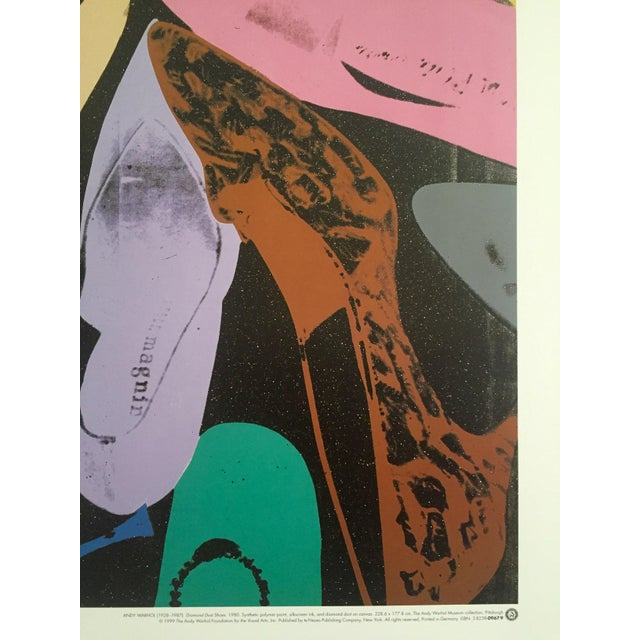 """Andy Warhol """"Diamond Dust Shoes"""" Offset Lithograph - Image 6 of 9"""