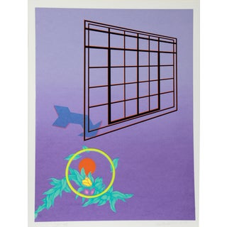 Rita Simon Serigraph - Arrow