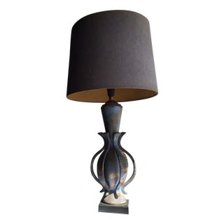 TYE of California Brown Ceramic Table Lamp
