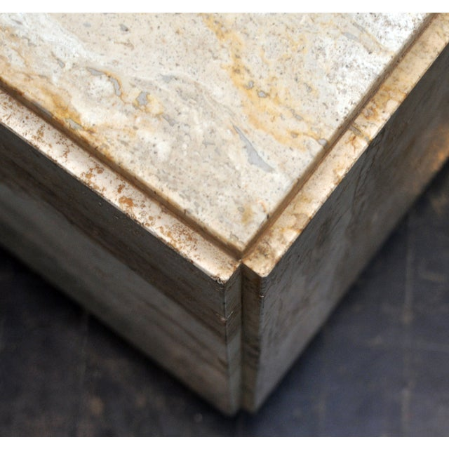 Stone Side Table - Image 3 of 7