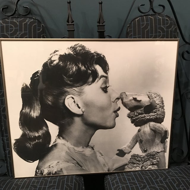 Vintage Television Publicity Photograph of Shari Lewis and LampChop - Image 3 of 8